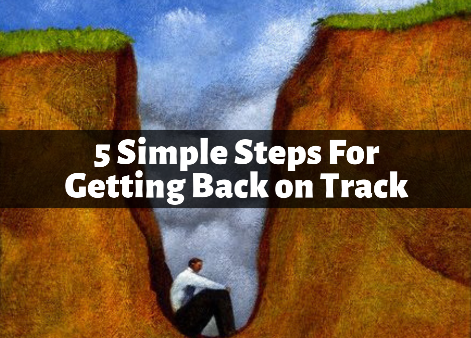 001 – 5 Simple Steps For Getting Back on Track