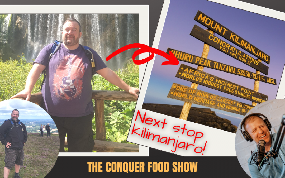 Mike Porter Losing 70 lbs & Preparing for Mt. Kilimanjaro
